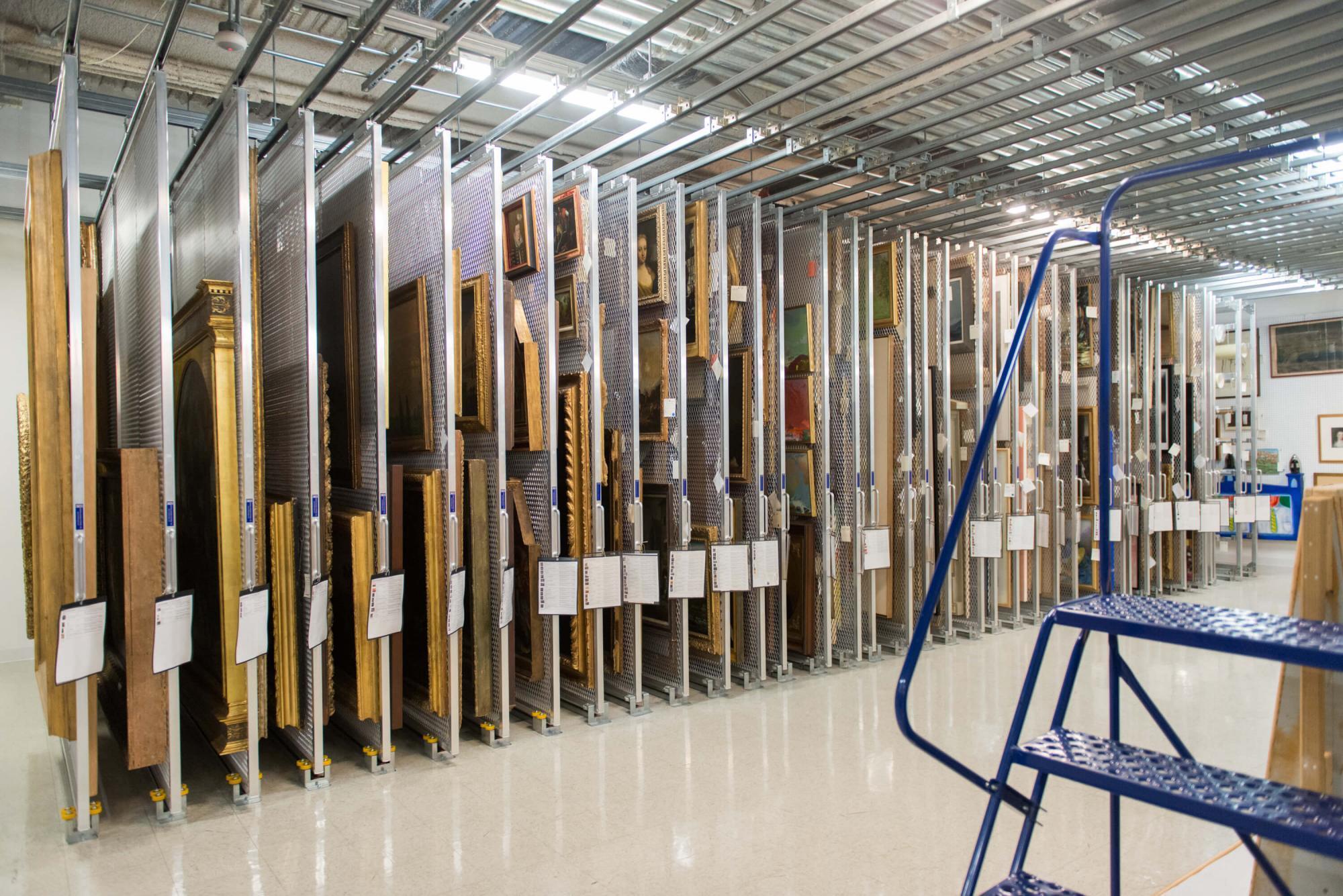 art storage room
