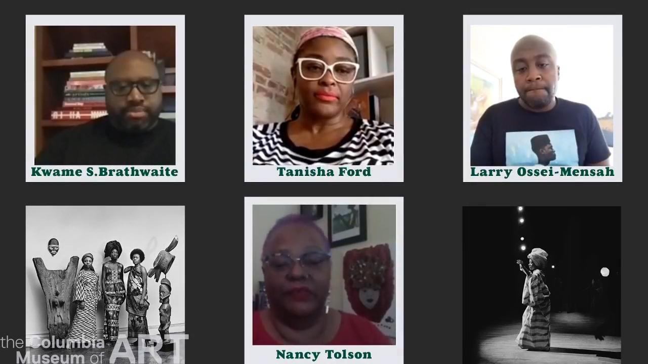 Image of talk participants