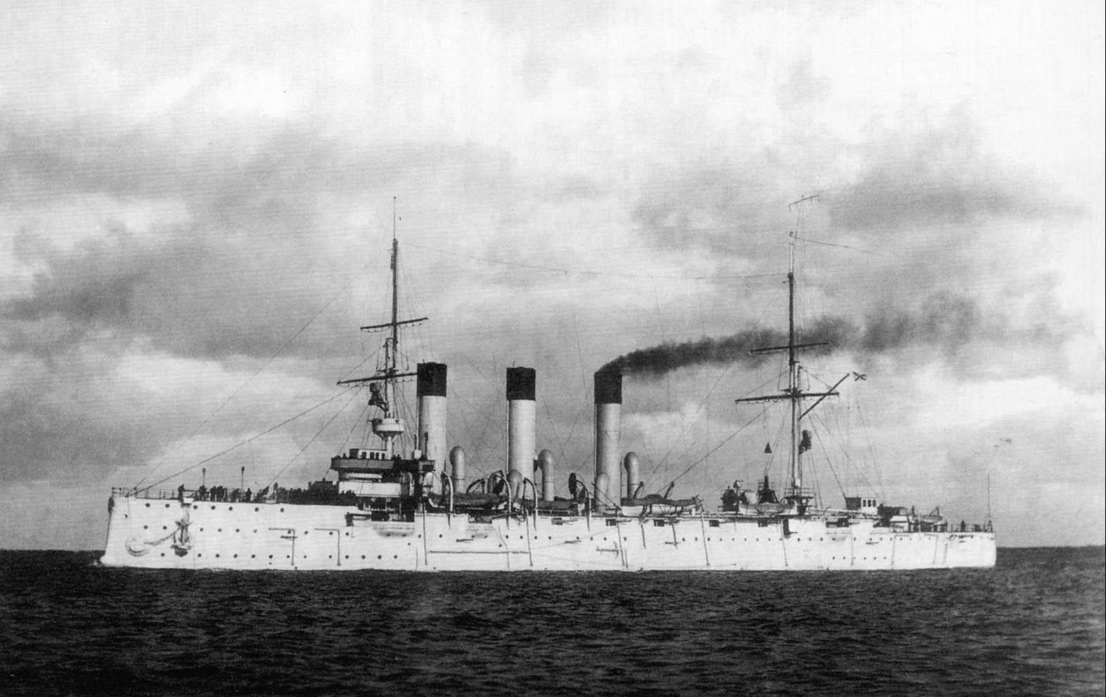The Russian cruiser Aurora